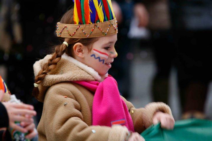 I colori di Re Carnevale – Sfilata Via Nazionale