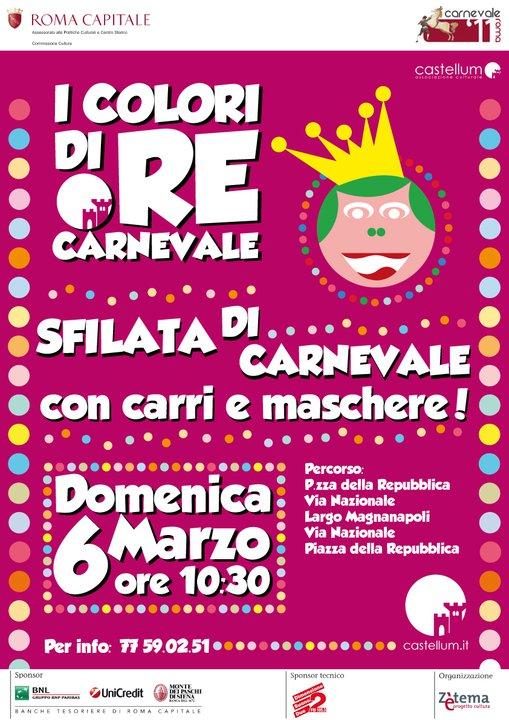 I colori di Re Carnevale