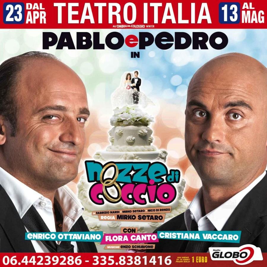 """Pablo & Pedro in """"Nozze di coccio"""""""