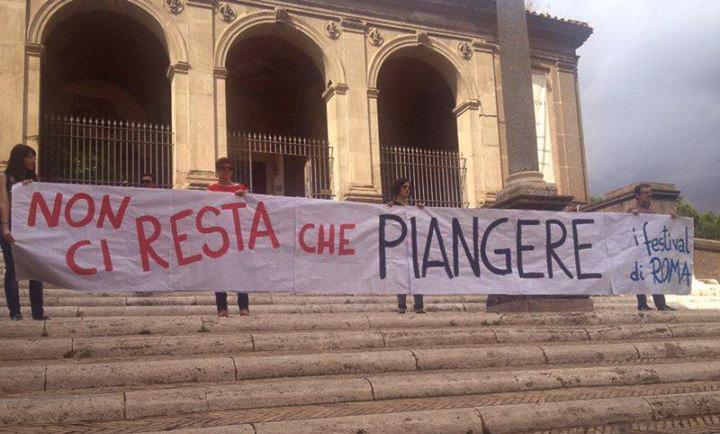 """Estate Romana, la protesta delle associazioni: """"Niente fondi, è allarme cultura"""""""