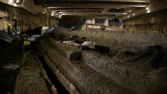 Metro C, a San Giovanni trovato il più grande bacino idrico della Roma Imperiale