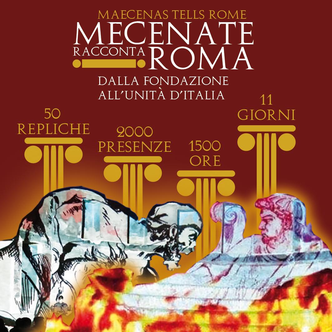 "I numeri di ""Mecenate racconta Roma"""