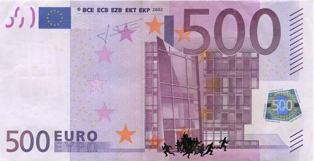 L'artista greco Stefanos ed il disagio economico greco