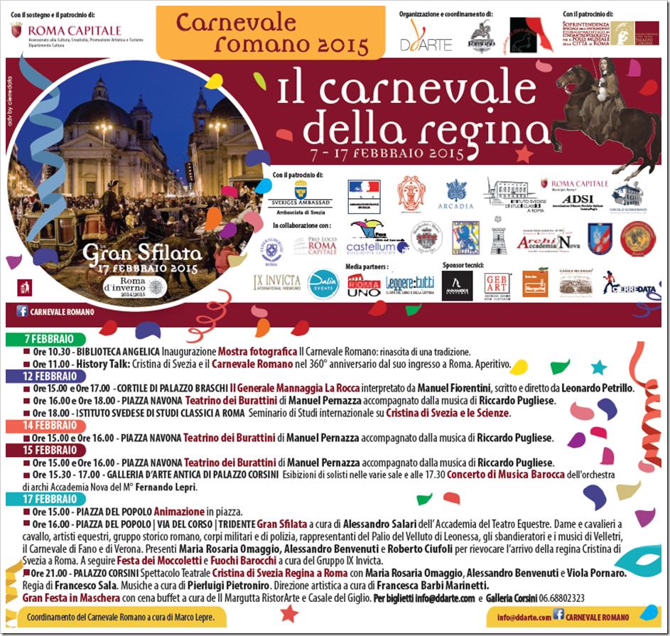 Carnevale Romano 2015