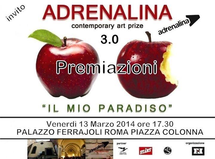 Premiazione Premio Adrenalina 3.0