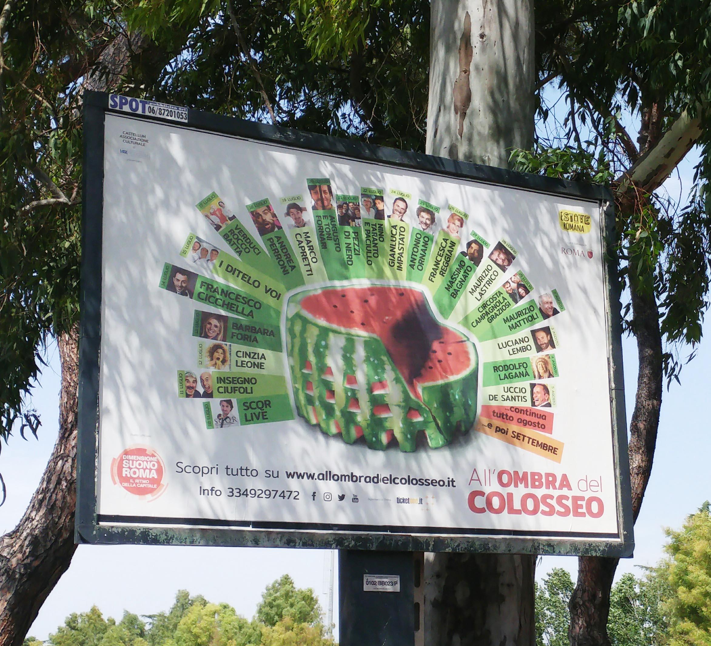 All'Ombra del Colosseo 2018 – 27° edizione !